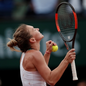 Halep set to break Grand Slam duck